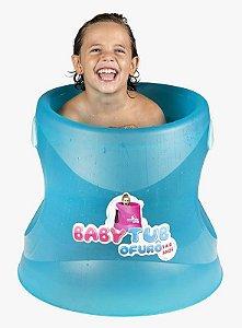 Ofurô 1 a 6 anos Azul Translucido - Babytub