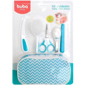 Kit Cuidados Baby com Estojo Azul - Buba