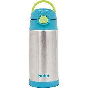 Garrafa Térmica Azul 400ml - Buba