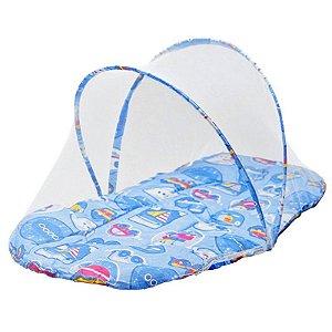 Mosquiteiro Conforto Azul - Pais e Filhos