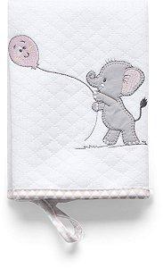 Kit com 2 Babinhas Lembranças de Infância Rosa - Hug