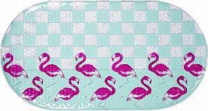 Tapete para Banho Flamingos - KaBaby