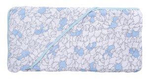 Toalha com Capuz Ovelha Azul - Incomfral