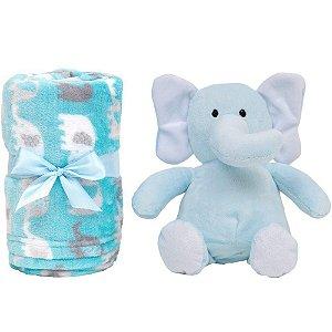 Manta Elefantinho Azul - Buba