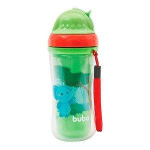 Copo com Canudo Animal Fun - Buba