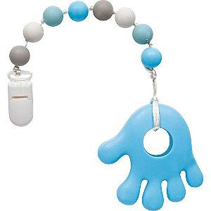 Mordedor com Prendedor Azul - Buba