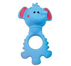 Chocalho Mordedor Elefantinho - Pais e Filhos