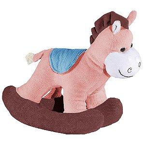 Cavalo Balanço Doce de Leite - Bichos de Pelúcia