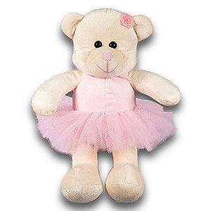 Ursa Bailarina G - Bichos de Pelúcia
