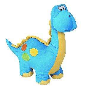 Dino Azul M - Bichos de Pelúcia
