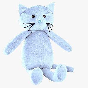 Gato Miu Azul P - Bichos de Pelúcia