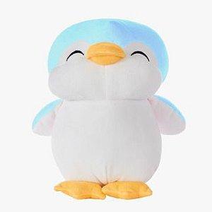 Pinguim Baby Azul - Bichos de Pelúcia