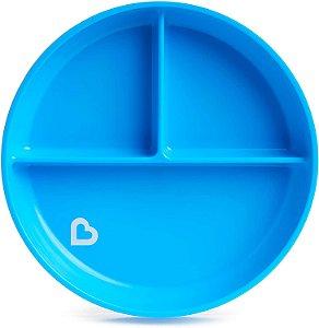 Prato com Ventosa Azul - Munchkin