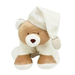 Puppet Urso Nino Marfim - Zip Toys