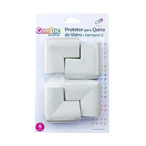 Protetor de Quina Formato U Cinza - Comtac