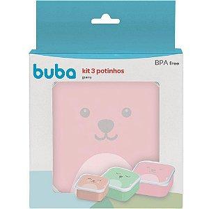 Kit 3 Potinhos Gumy Menina - Buba