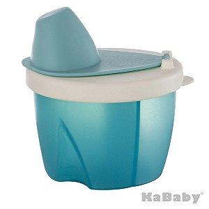 Pote Dosador para Leite Azul - KaBaby