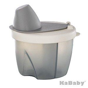 Pote Dosador para Leite Cinza - KaBaby