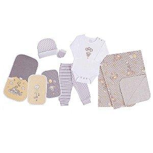 Baby Kit Nuvenzinha Cachorrinho Amarelo - Colibri