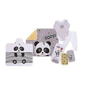 Baby Kit Solzinho Panda Amarelo - Colibri