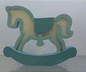 Luminária de Mesa Cavalo de Pau