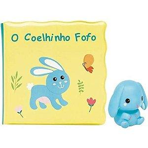 Kit Livrinho de Banho Coelhinho - Buba