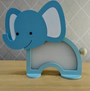 Nova Luminária Elefante