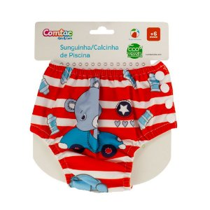 Sunguinha Reutilizável Little Bear 6 - 9 Meses - Comtac
