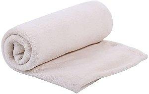 Cobertor de Microfibra Creme Mami - Papi Baby