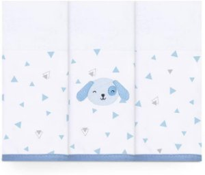 Fralda com Faixa Mami Bichuus Azul - Papi Baby
