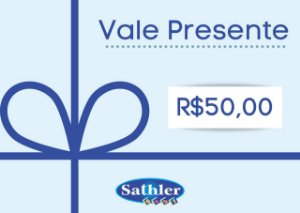 Vale Presente Sathler Baby - R$ 50,00
