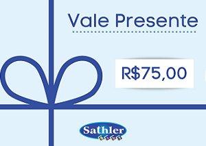 Vale Presente Sathler Baby - R$ 75,00