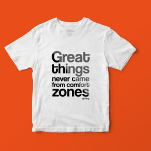 T SHIRT  GREAT THINGS