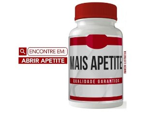 COMPOSTO INDICADO PARA AUMENTO DO APETITE OF - 60 CAPSULAS