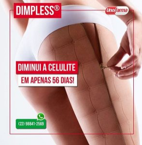DIMPLESS 40MG 30CÁPSULAS - ANTI CELULITE E ESTRIAS