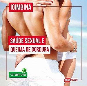 IOIMBINA - SAÚDE SEXUAL E QUEIMA DE GORDURA -  5mg - 30 CAPS