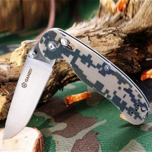 Canivete Ganzo G727M-CA Firebird - Camuflado Digital