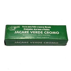 PASTA DE POLIR JACARÉ VERDE CROMO 400G