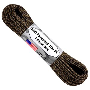 PARACORD 550 4MM FABRICADO NOS EUA 10 METROS - GROUND WAR