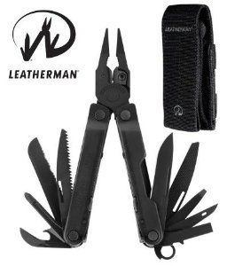 LEATHERMAN REBAR BLACK ALICATE MULTITOOL