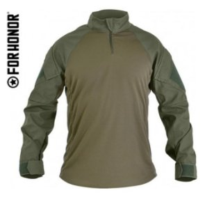 COMBAT SHIRT FORHONOR MOD. 711 - OLIVE DRAB