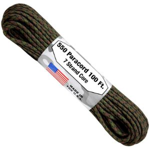 PARACORD 550 FABRICADO NOS EUA - WET LAND - 10 METROS