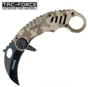 CANIVETE KARAMBIT TAC-FORCE TF-620DM