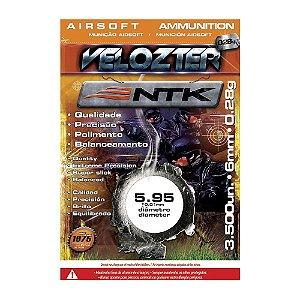 BBs NTK VELOZTER 0,28G AIRSFOT 6MM (3500 UN)
