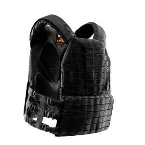 PLATE CARRIER INVICTUS APOLO - PRETO