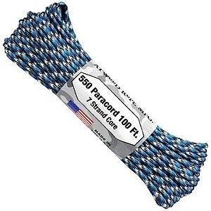 PARACORD 550 ATWOOD POR METRO - BLUE CAMO