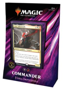 Commander - Fúria Impiedosa (Anje - Rakdos)