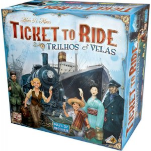 Ticket to Ride - Trilhos & Velas