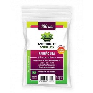 Sleeve Meeple Virus - Padrão USA