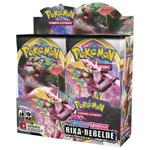 Booster Box Pokémon - Rixa Rebelde